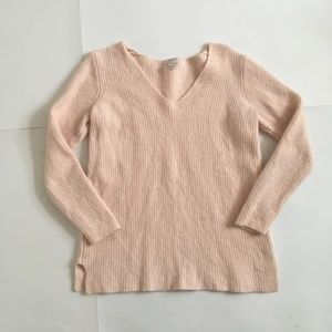 J.Crew | Blush Pink Sweater Merino Wool Blend